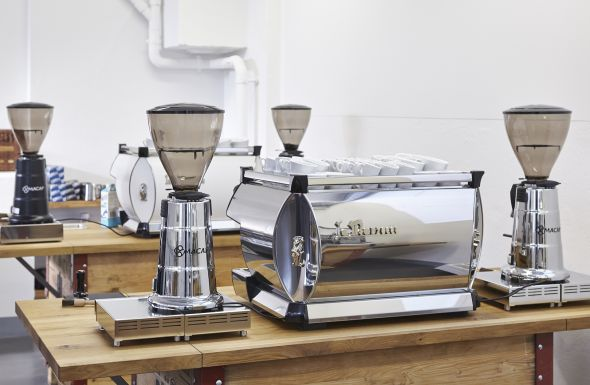Blasercafé Equipment